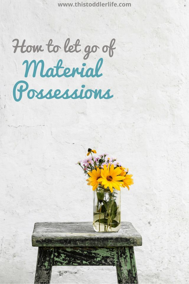 How to let go of material possessions? By incorporating a minimalist lifestyle you will allow yourself to feel freer and lighter making letting go easier.