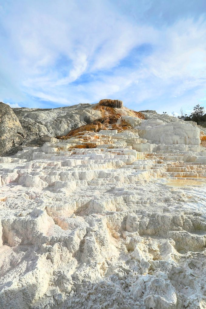 Mammoth Hot Springs in Yellowstone National Park | Get Inspired Everyday!
