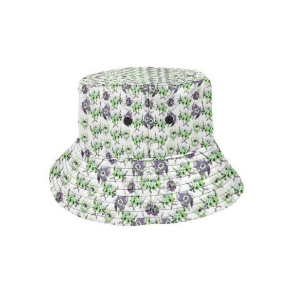 Bucket hat- women's hat-formal hat- hand painted original design- premium co… – Products