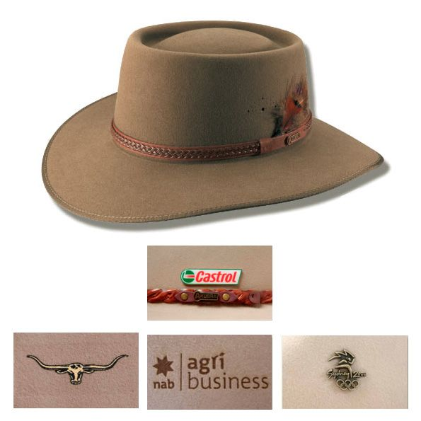 This is our Country Styles - Plainsman Akubra Hat at Vivid Promotions Australia! Australian hat a favourite with both ladies and gents. Get more details at vividpromotions.com.au.