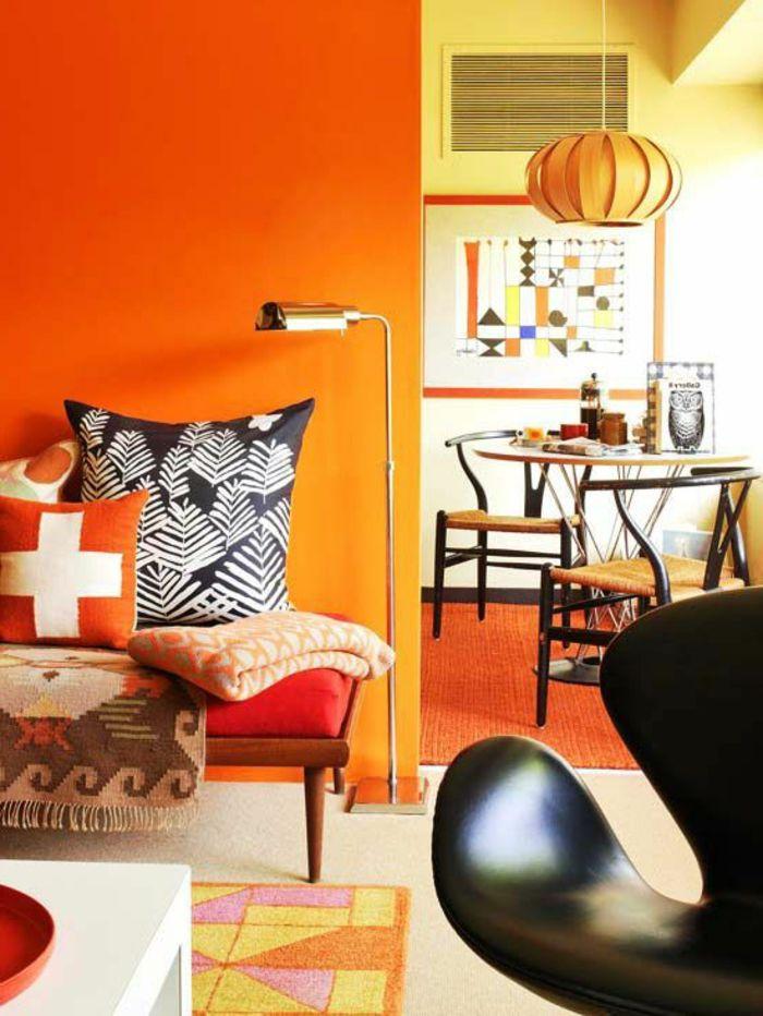 60 Wandfarbe Ideen in Orange \u2013 Naturinspirierte Gestaltung für alle