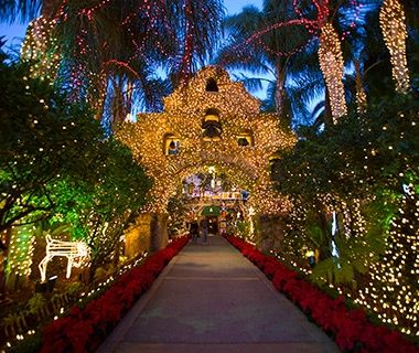 The Mission Inn Hotel & Spa, Riverside, CA - America's Best Hotels for Christmas | Travel + Leisure