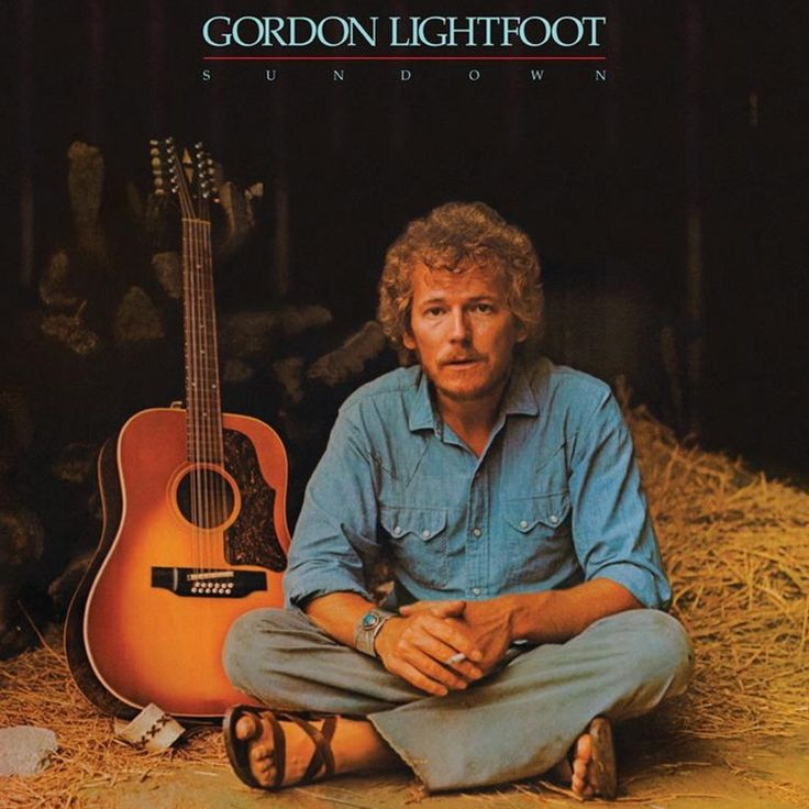 Gordon Lightfoot - Sundown on Limited Edition 180g LP from Friday Music
