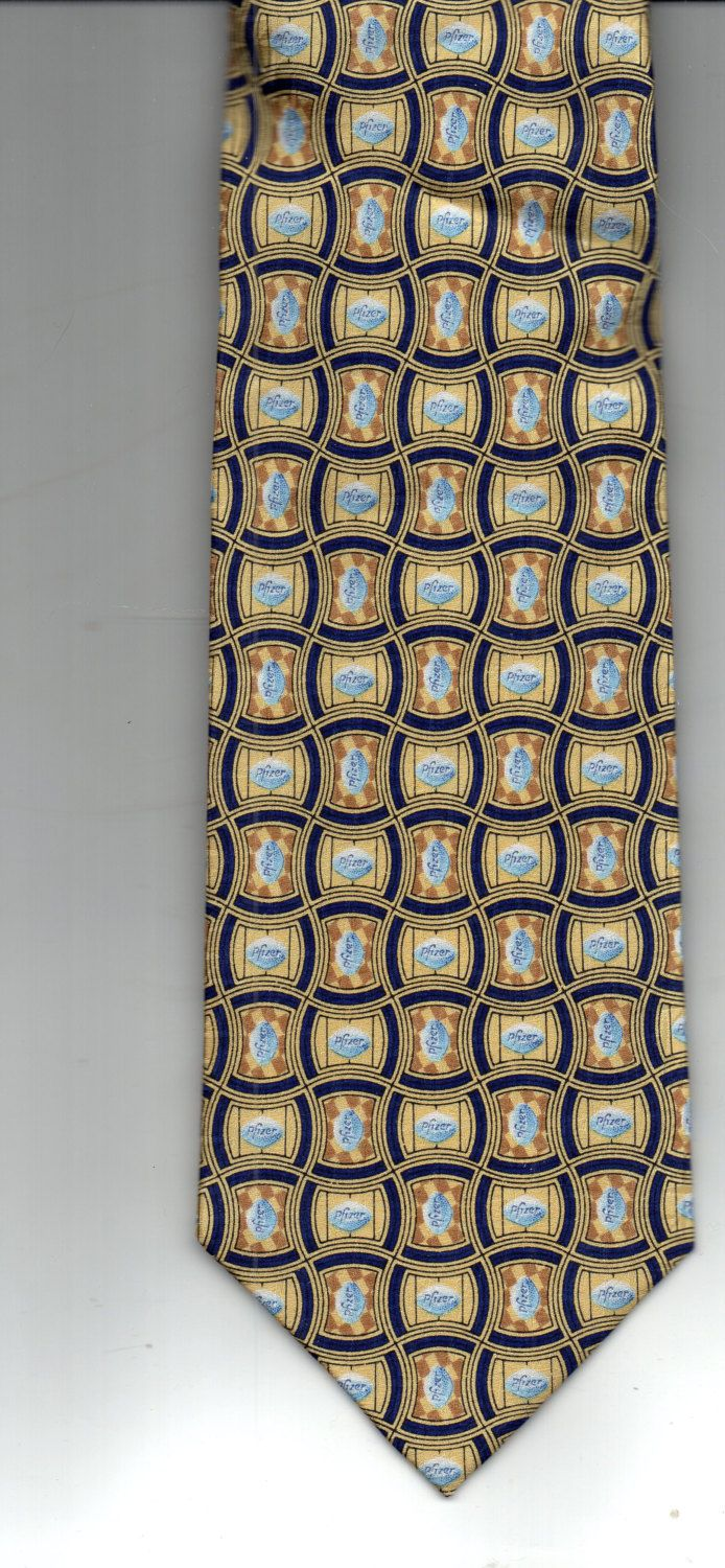 VIAGRA  Pfizer Mens TIe by AAAVINTAGEFINDS on Etsy