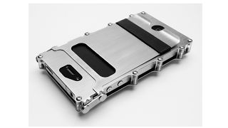 #iPhone case that seems like a maze to open up.