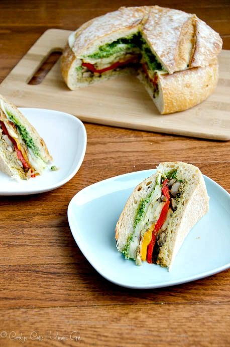Savory and satisfying vegetarian muffuletta recipe with easy vegan option. Perfect for Mardi Gras or any old gras.
