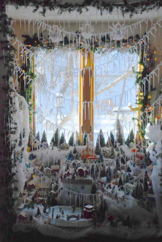 Home Design Image Ideas: christmas village display ideas