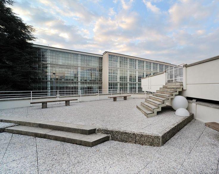 Stabilimento Olivetti I.C.O, Gino Pollini e Luigi Figini, 1939-42, Ivrea, Torino