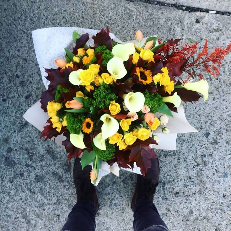 We catch the autumn in a bouquet