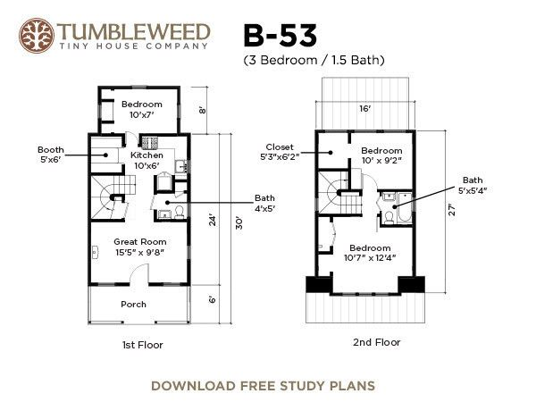 Tumbleweed Tiny House Plans 168 best house  plans images on pinterest | modern house plans