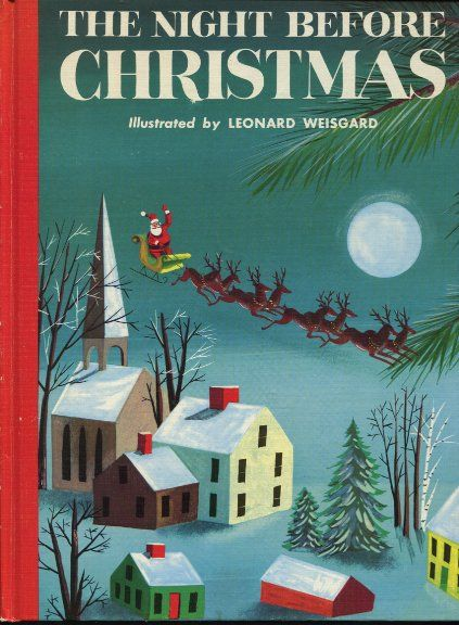 The Art of Children's Picture Books: Twas The Night Before Christmas, Various Illustrators