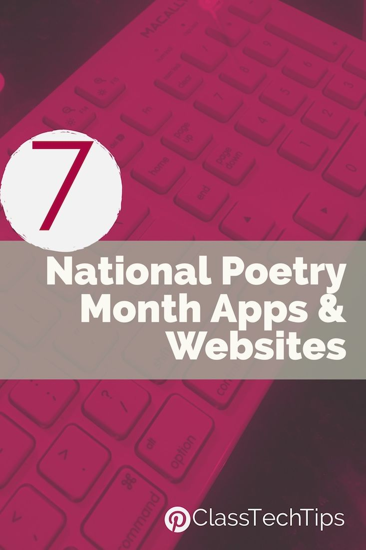 images about education apps education websites 7 national poetry month apps and websites
