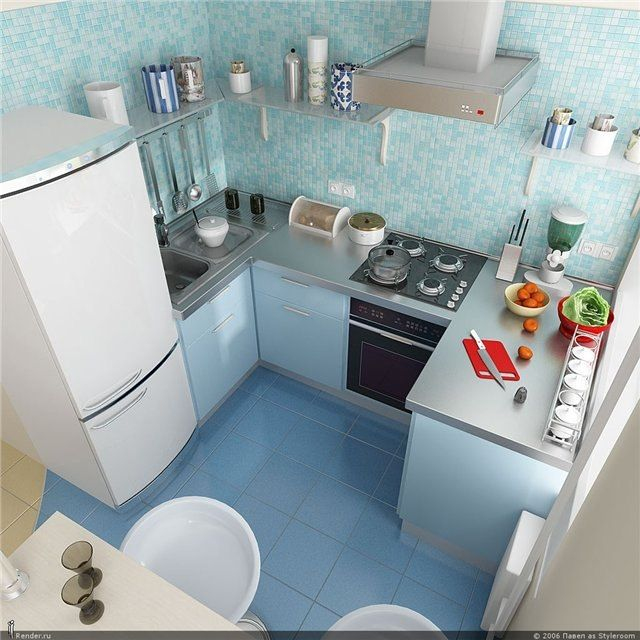 Very small kitchen