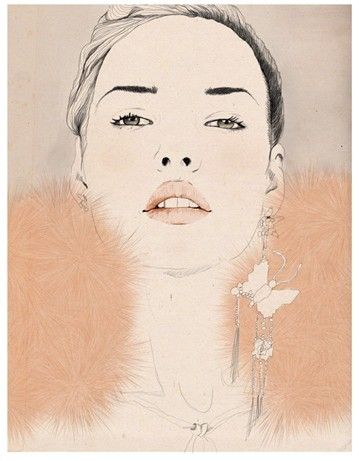 Illustration by Sandra Suy...   love the simplicity and calm color palette here.  <3