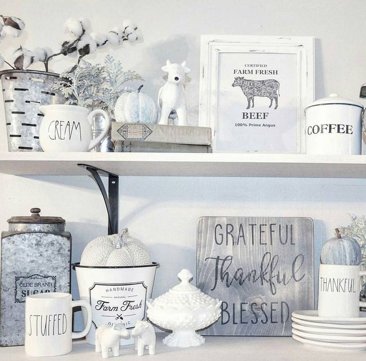 Fixer Upper Country Kitchen: LOVE It All !!! Great Decorating Ideas For Farmhouse