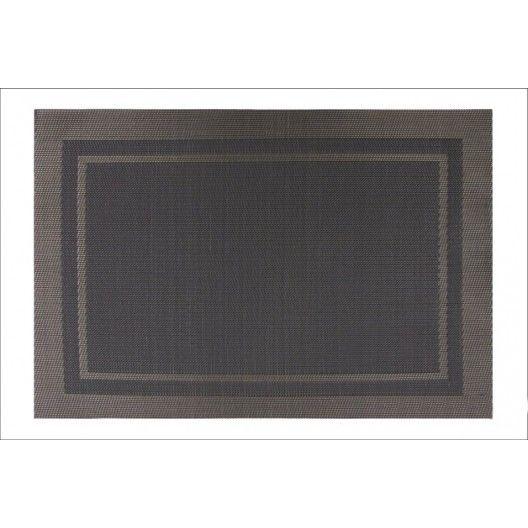 Moderné prestieranie v svetlohnedej farbe na stôl oválneho tvaru