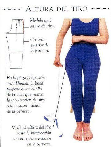 Tomar medidas   Las medidas necesarias sin  el contorno del pecho, cintura y caderas, la altura y el largo de la espalda. Lo ideal es ll...