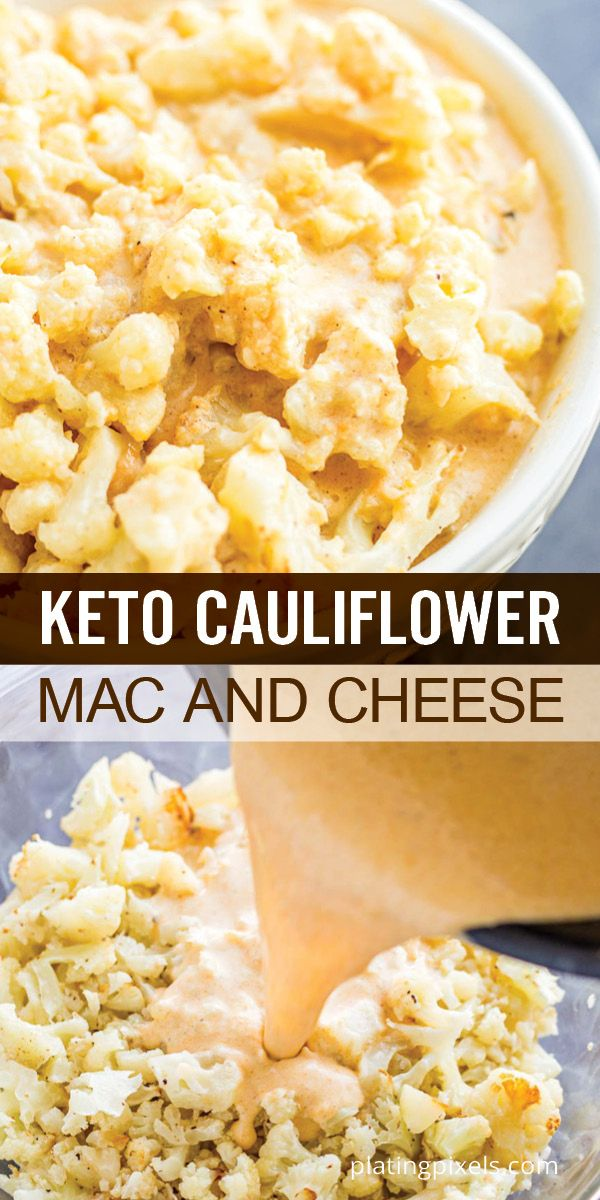 Quick And Easy Keto Cauliflower Mac And Cheese Has All The