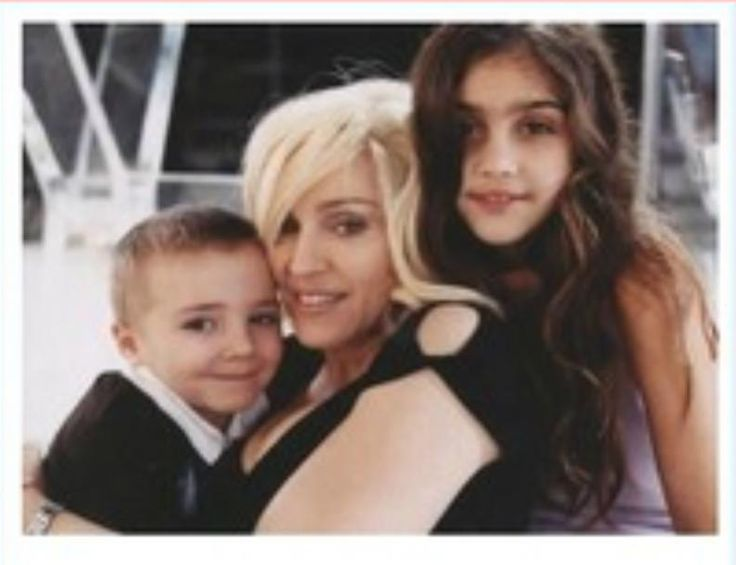 Madonna with Lourdes and Rocco..