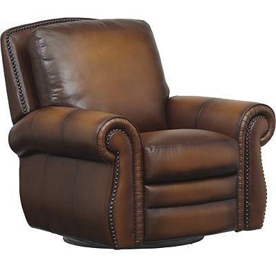 Havertys - Vintage Autumn Swivel Recliner