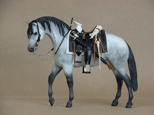 Mexican Saddle for Breyer horse