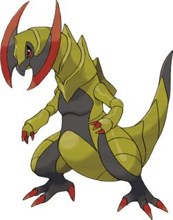 Haxorus Pokédex: stats, moves, evolution & locations   Pokémon Database