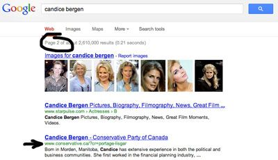 Rebranded Conservative MP Candice Bergen (formerly Hoeppner) was selected by readers of my blog for a digital makeover.