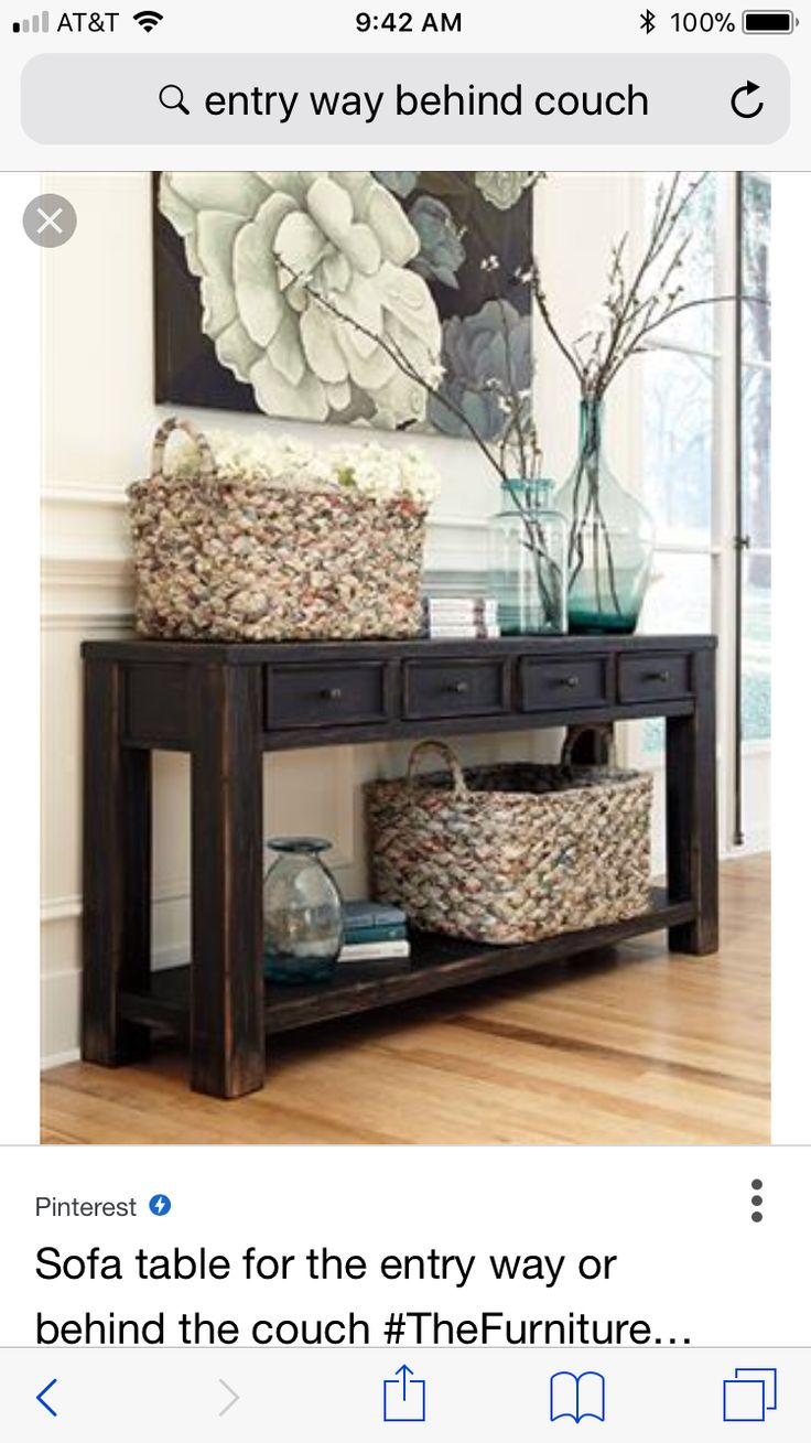 Pin By Lisa Kelly On Living Rooms Entryway Tables