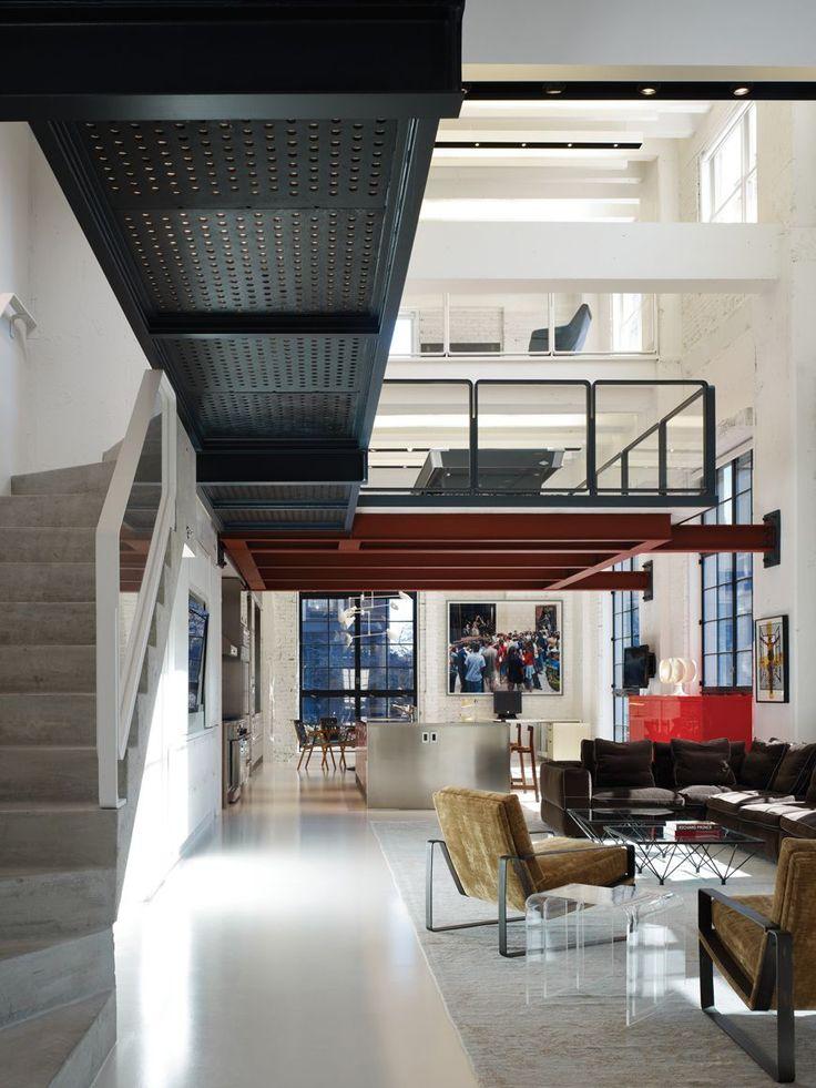 136 best Loft/Industrial images on Pinterest   Arquitetura, Interior and  Windows
