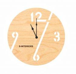 Оригинальные <b>настенные часы</b> из фанеры S-<b>Interiors</b> 96 ...