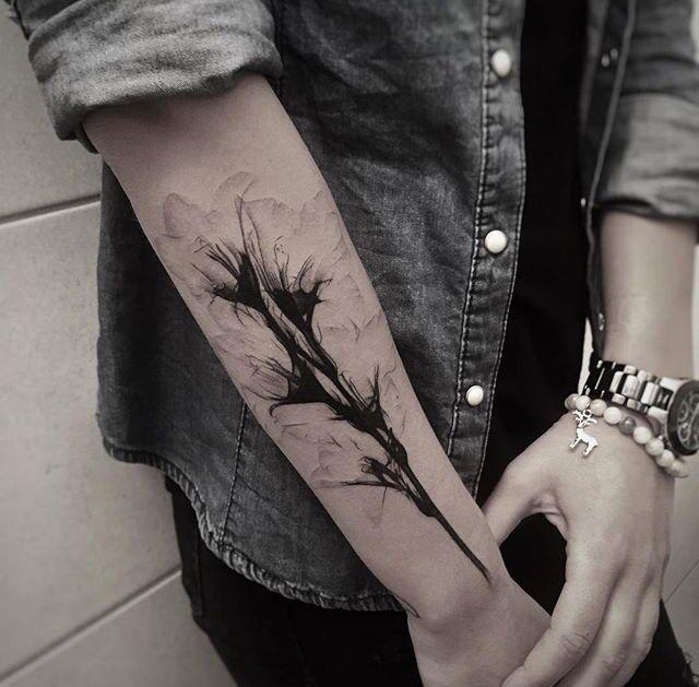 Xray gladiolus flower tattoo                                                                                                                                                                                 More