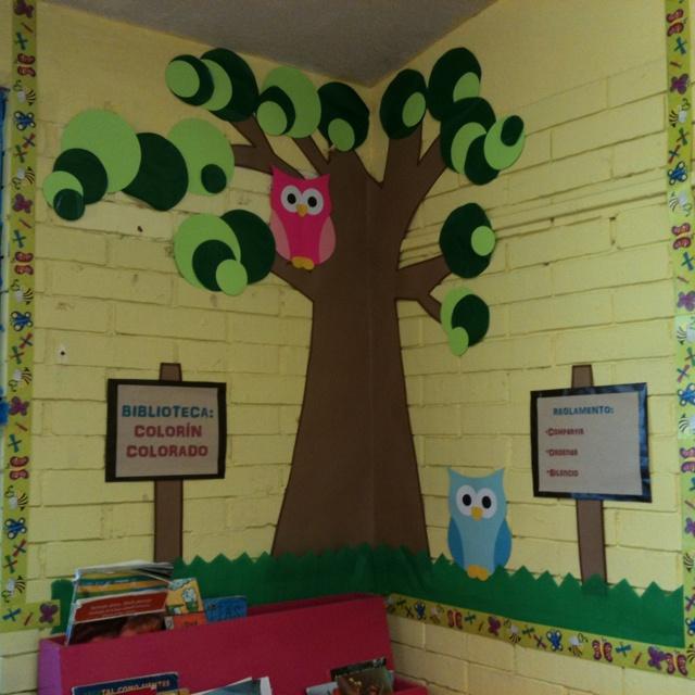 Biblioteca del aula classroom library