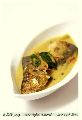 Mackerel Curry-Aceh Style (Gulai Ikan Kembung Khas Aceh)