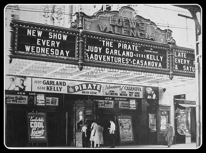 Lowes Valencia Theater Jamaica Queens 1948 Old Queens