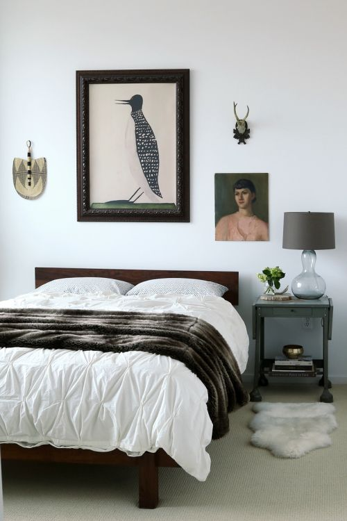 233 best ART IN BEDROOMS images on Pinterest | Home ideas, Living ...