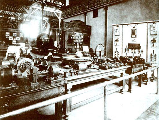 War of currents: Tesla vs Edison. Nikola Tesla's personal exhibit at the Wor…