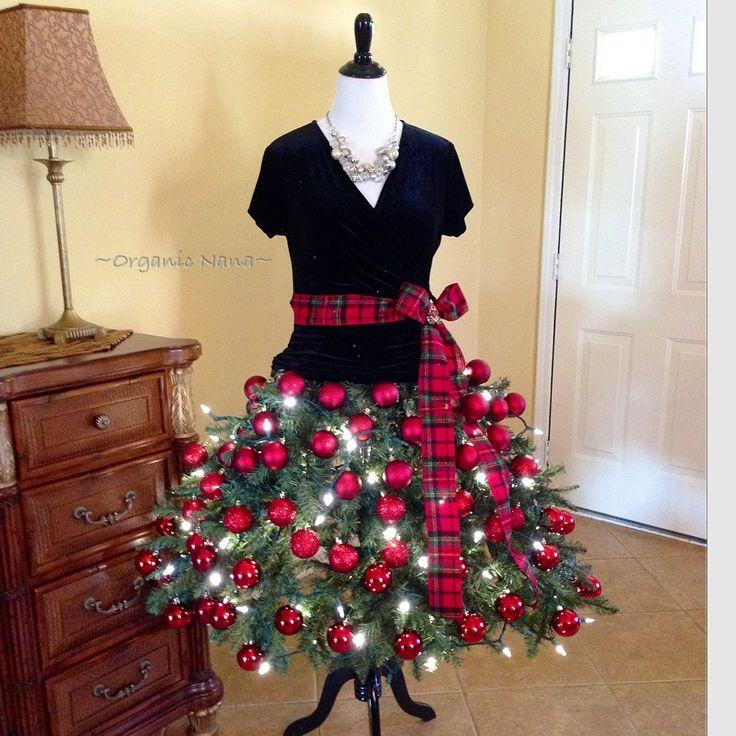 Dress Form Christmas Tree 2014