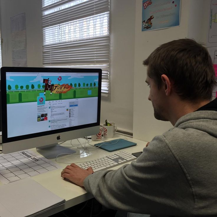 Our social media guy Rob keeping an eye on our Twitter account @donutpublishing. He loves connecting with new people - drop him a tweet or leave a comment here. Feel free to ask us any questions about #developing #games for #mobile