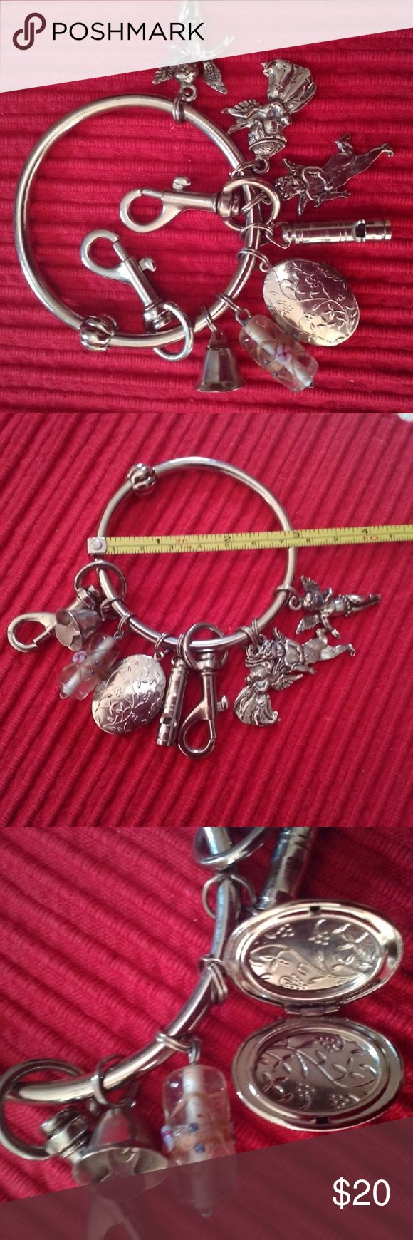 Keyring With Seven Charms