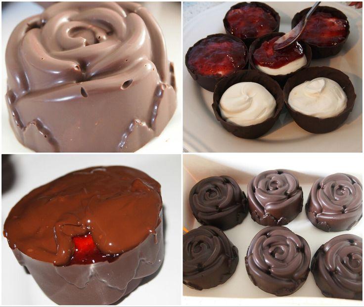 Gevulde Chocolade rozen
