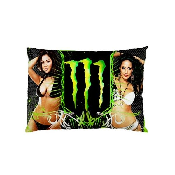 Monster Energy Rectangle Pillow Cases comfortable to sleep code ME1101
