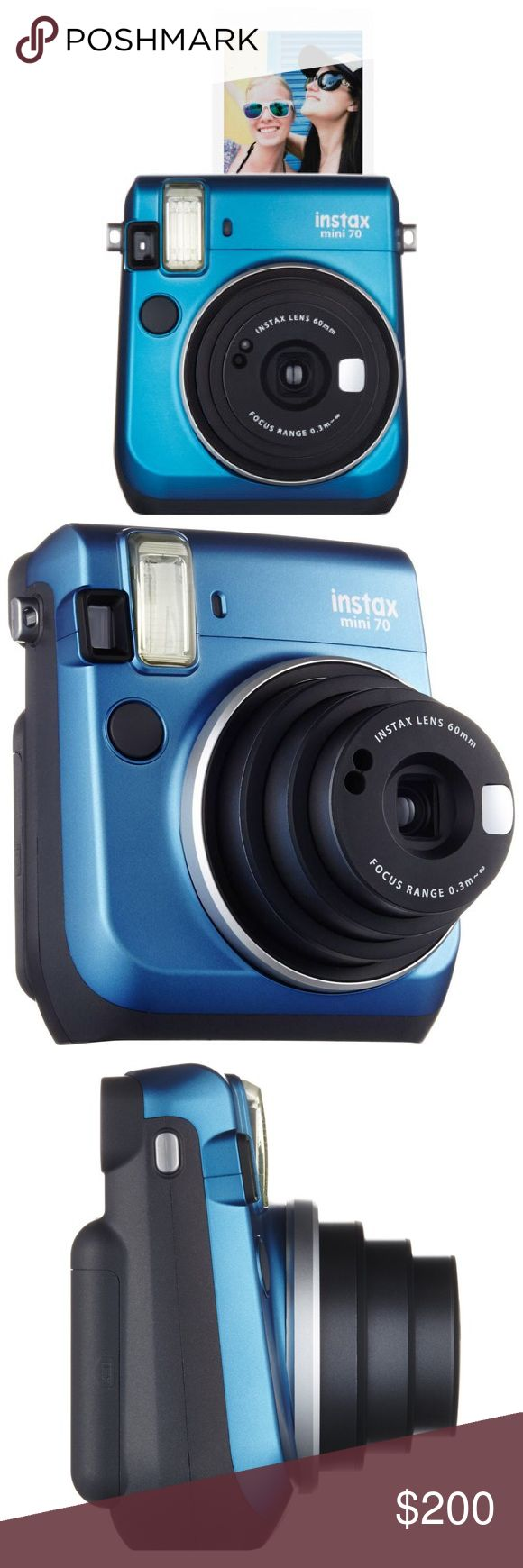 • Fujifilm Instax Mini 70 • Instant Film Camera One package of film included. Urban Outfitters Accessories