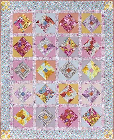 Pastel Blush Quilt Fabric Pack Glorious Color Kaffe
