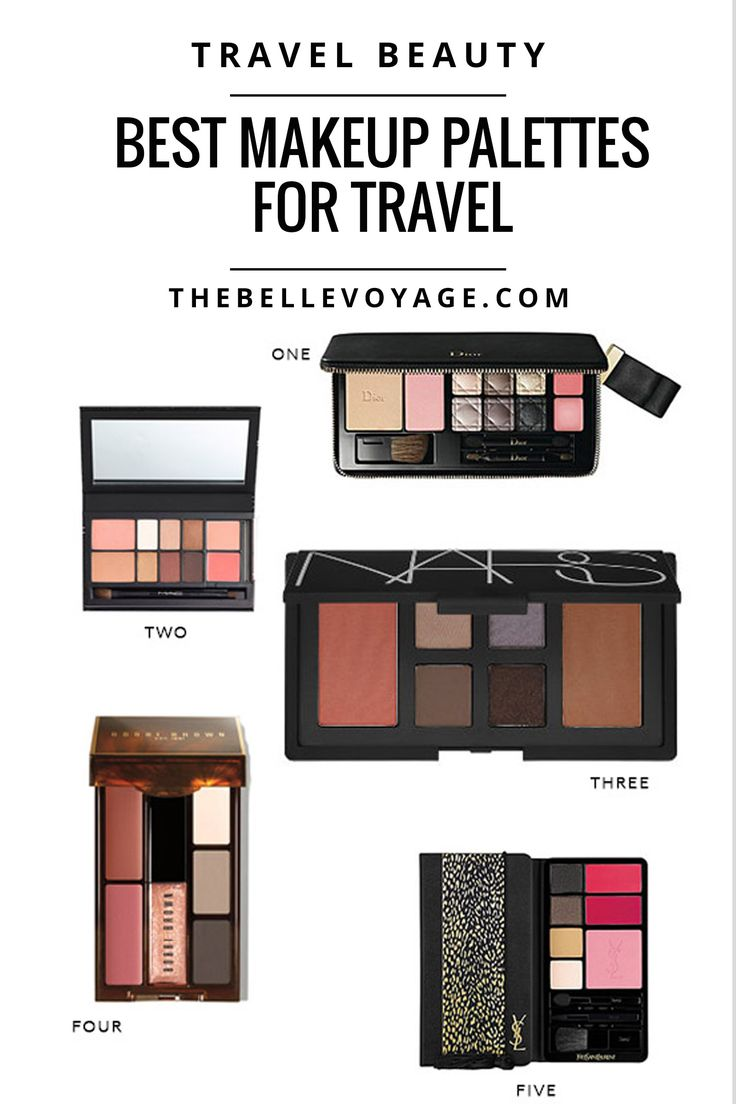 The Best Makeup Palettes for Travel | The Belle Voyage, travel size,  #travel #beauty #makeup