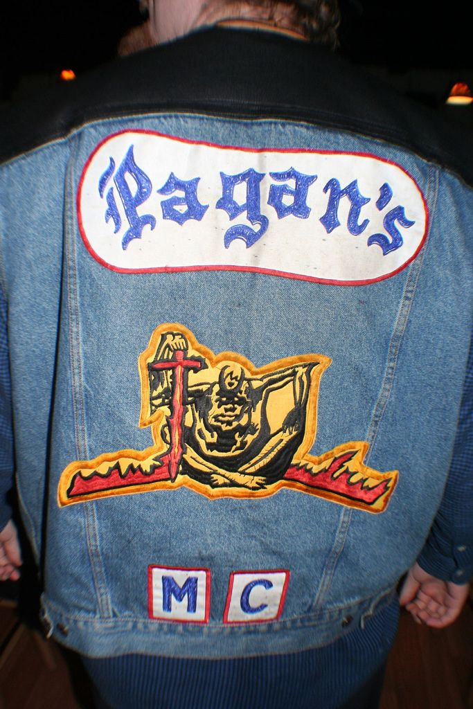 ***Info from Wiki, no club site found***Pagan's Motorcycle Club, or simply The Pagans, is a one-percenter outlaw motorcycle gang and an alleged organized crime syndicate formed by Lou Dobkin in 1959 in Prince George's County, Maryland, United States.The club rapidly expanded and by 1965, the Pagans, originally clad in blue denim jackets and riding Triumphs, began to evolve along the lines of the stereotypical one percenter motorcycle club.