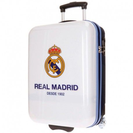 MALETA VIAJE RÍGIDA 55 CM. DEL REAL MADRID