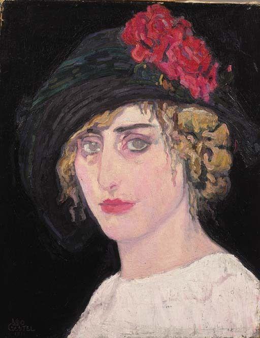 Leo Gestel, Portret van een vrouw