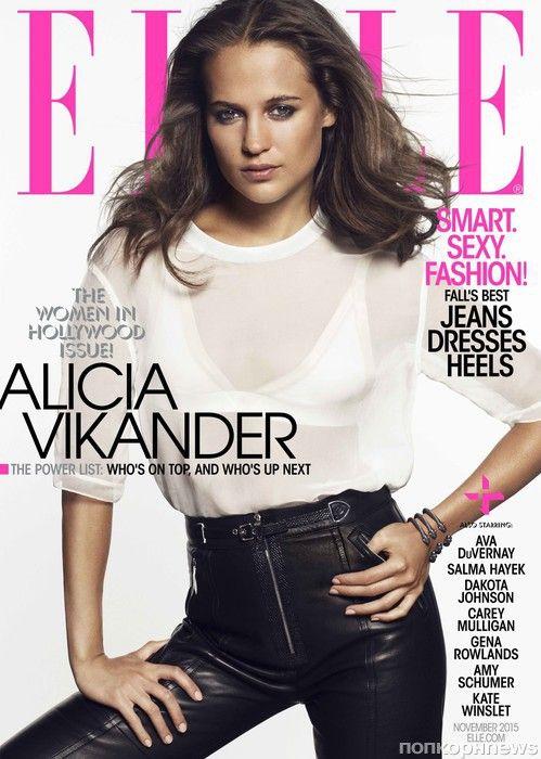 Дакота Джонсон, Кейт Уинслет, Эми Шумер и другие в специальном выпуске журнала Elle- popcornnews