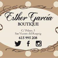 Esther Garcia Boutique. ¿Tienes un evento especial y no sabes qué ponerte? Esther Garcia Boutique!!intentara encontrar el look que mas se adapte a ti ¡Os esperamos!