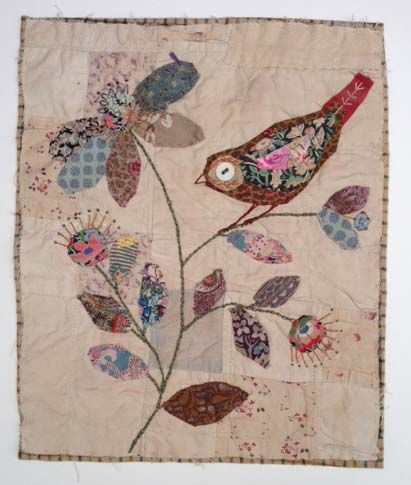 Mandy Pattullo's bird on foliage